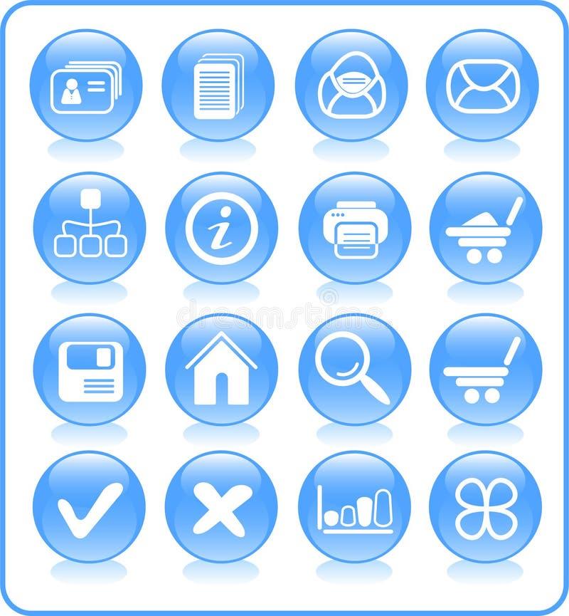 Iconos stock de ilustración