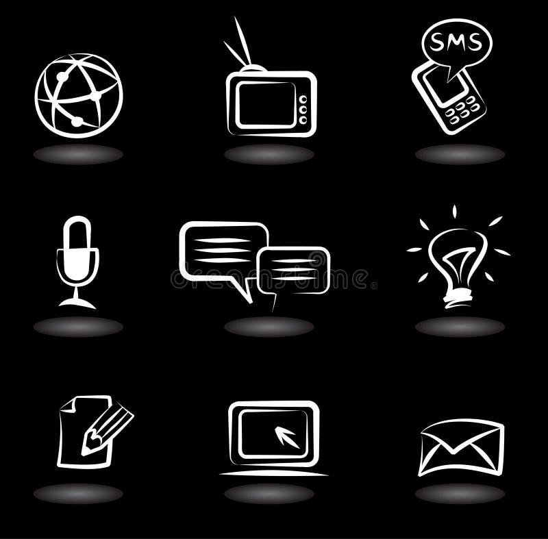 Iconos 5 de la comunicación