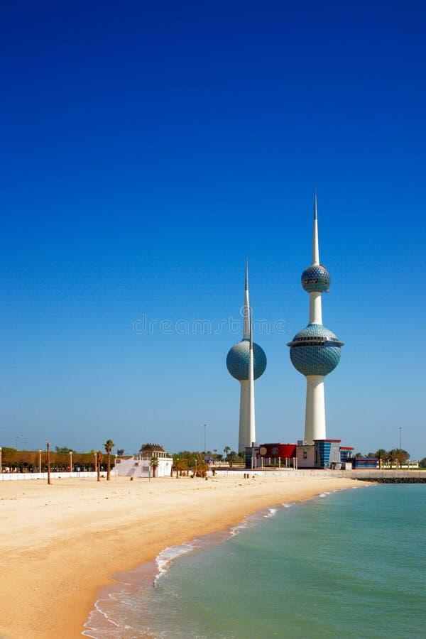 Iconos arquitectónicos del Kuwait City foto de archivo