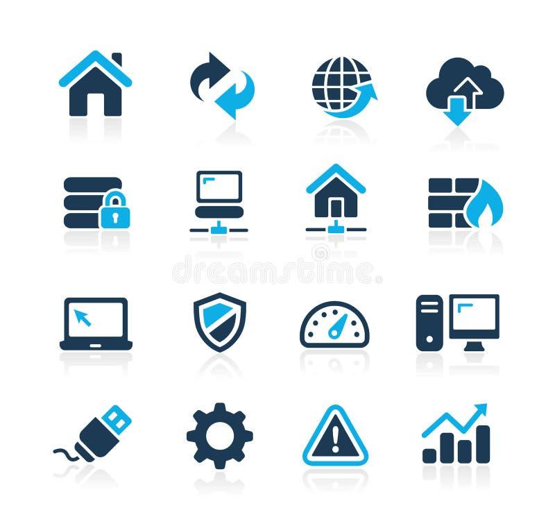 Iconos Azure Series del desarrollador ilustración del vector