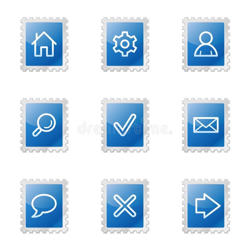 Iconos básicos del Web libre illustration