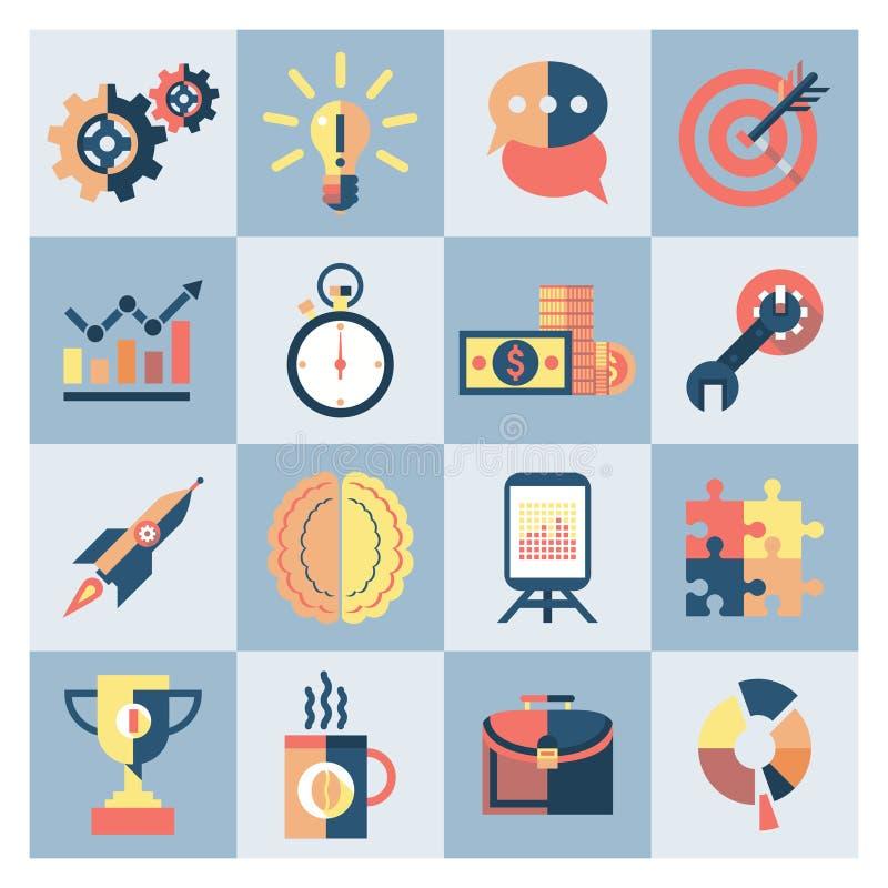 Iconos creativos fijados libre illustration