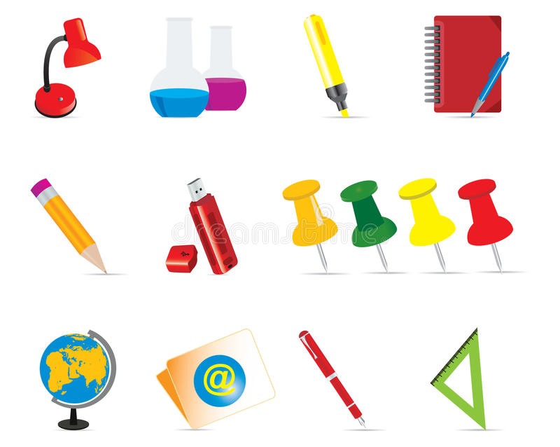 Iconos de la educación libre illustration