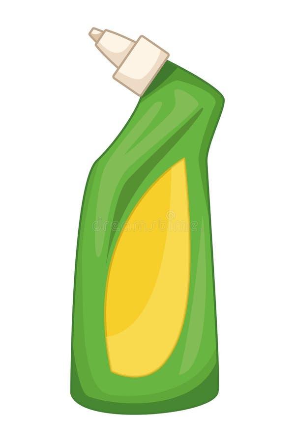 Iconos de la limpieza y del equipo de la higiene libre illustration