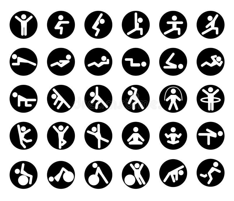 Iconos de la prensa de banco del diseño gráfico ilustración del vector