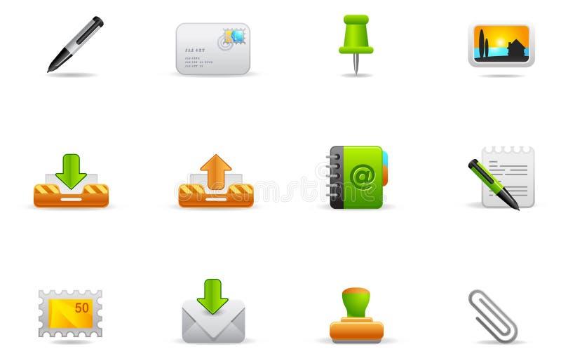 Iconos de Philos - conjunto 1 | Web site e Internet ilustración del vector