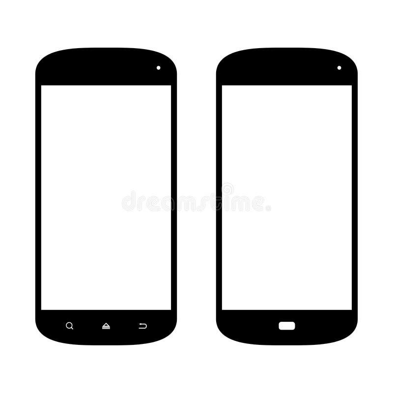 Iconos de Smartphone libre illustration