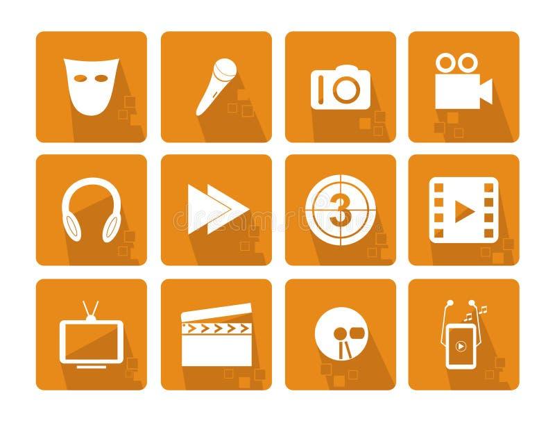 Download Iconos del asunto ilustración del vector. Ilustración de colores - 41921432