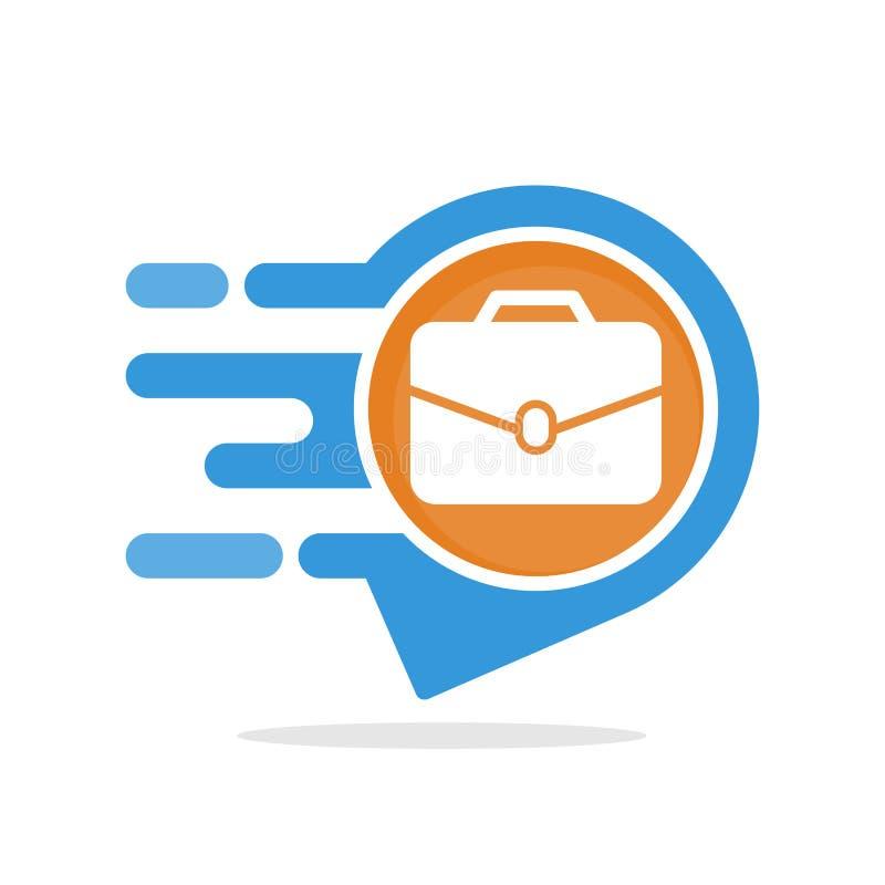 Iconos del ejemplo del vector con el concepto de servicios informativos y responsivos para tener acceso a la información sobre la stock de ilustración
