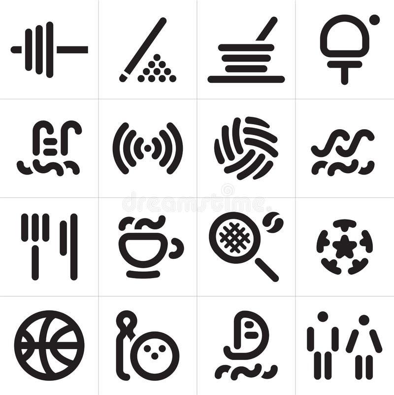 Iconos del hotel libre illustration