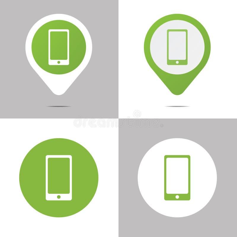 Iconos del libro de Digitaces ilustración del vector