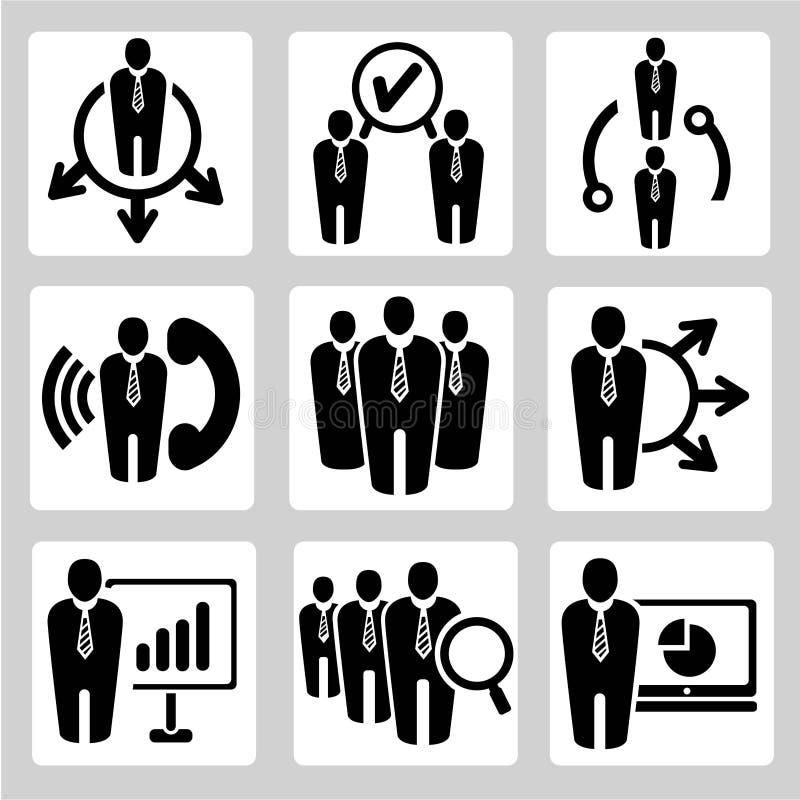 Iconos del negocio libre illustration