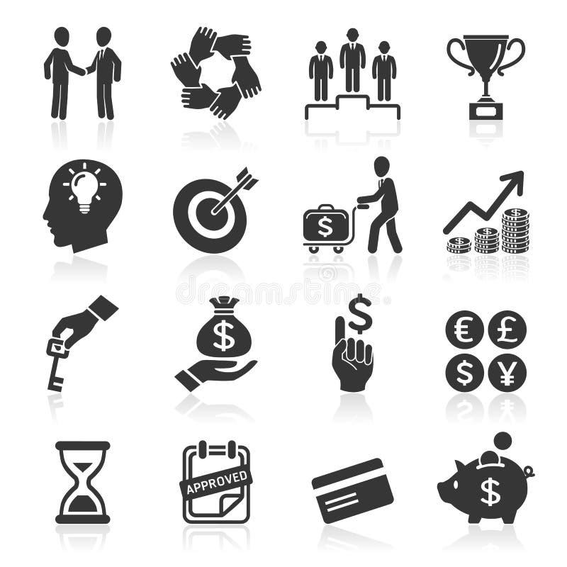 Iconos del negocio, gestión y recursos humanos. libre illustration