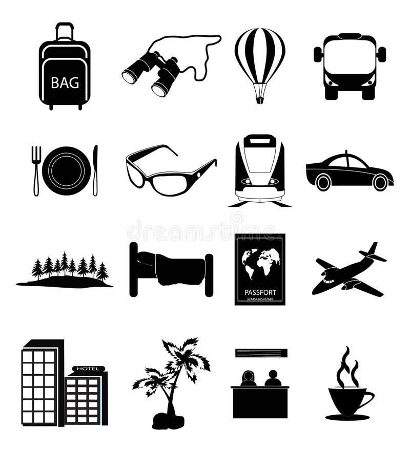 Iconos del recorrido libre illustration