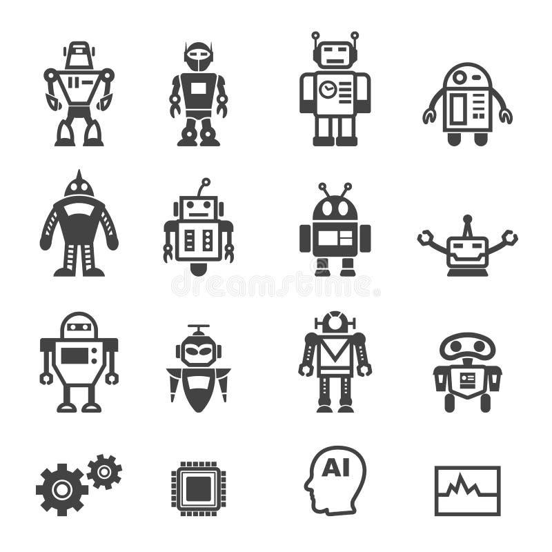 Iconos del robot