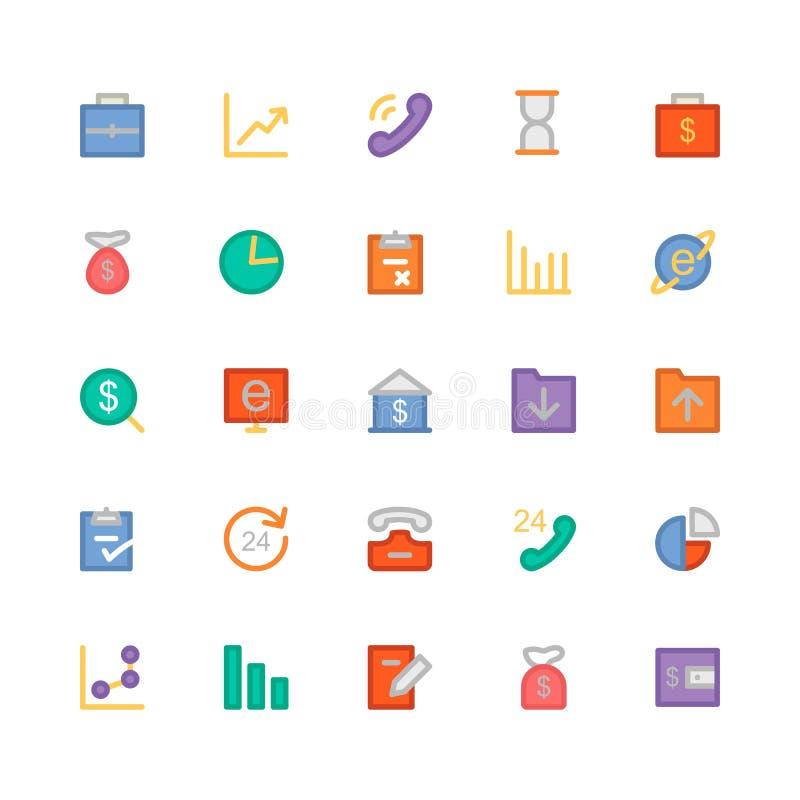 Iconos 1 del vector del negocio libre illustration