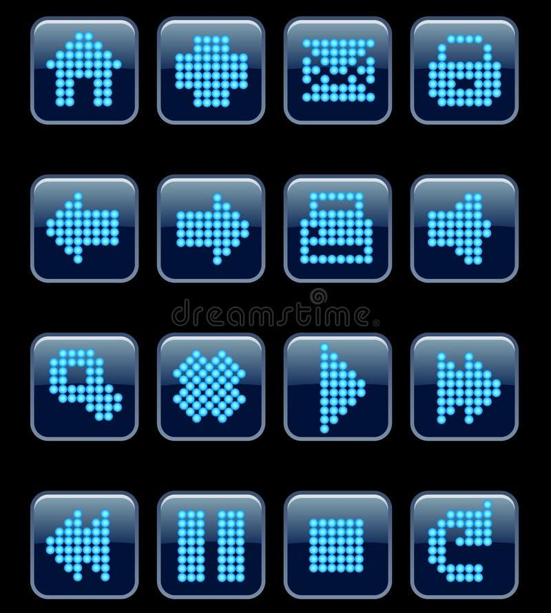 Iconos del Web del vector. libre illustration