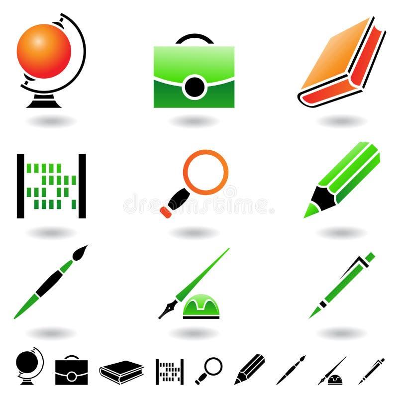 Iconos educativos libre illustration