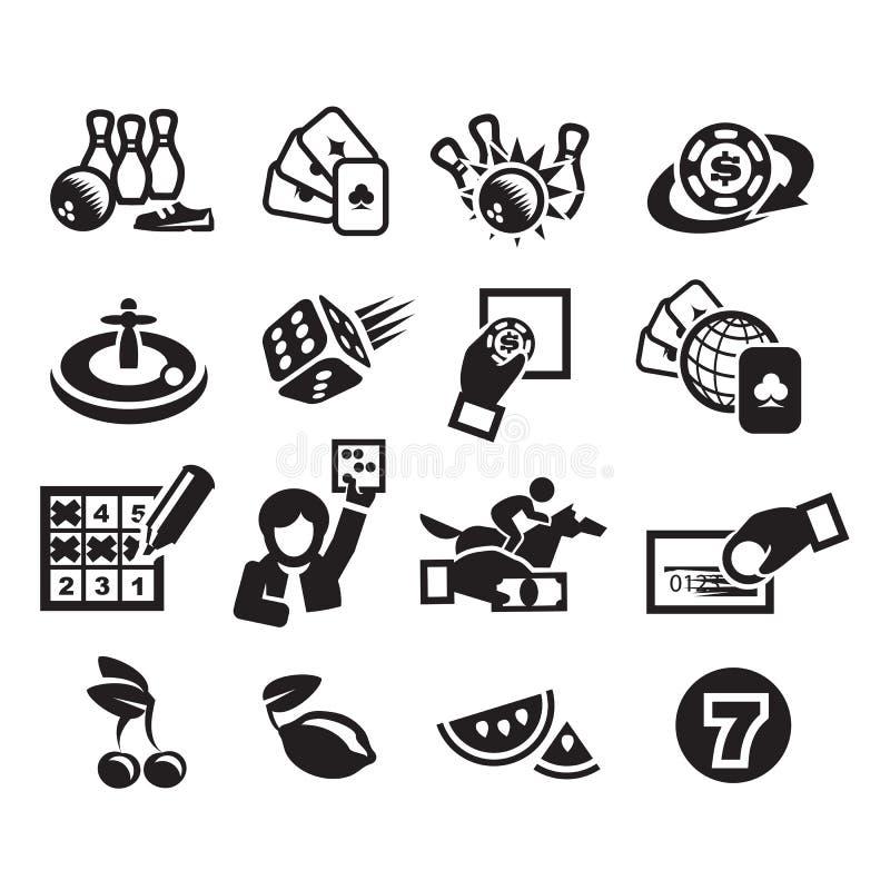 Iconos Fijados Fotografía de archivo