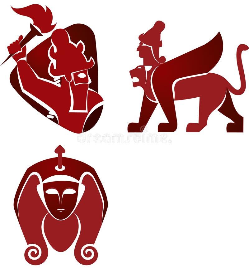 Iconos históricos libre illustration