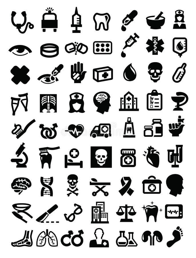 Iconos médicos libre illustration