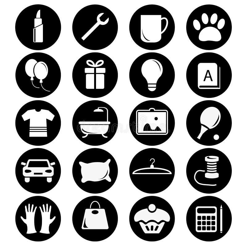 Iconos para su tienda libre illustration