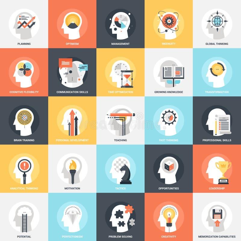 Iconos personales de las habilidades libre illustration