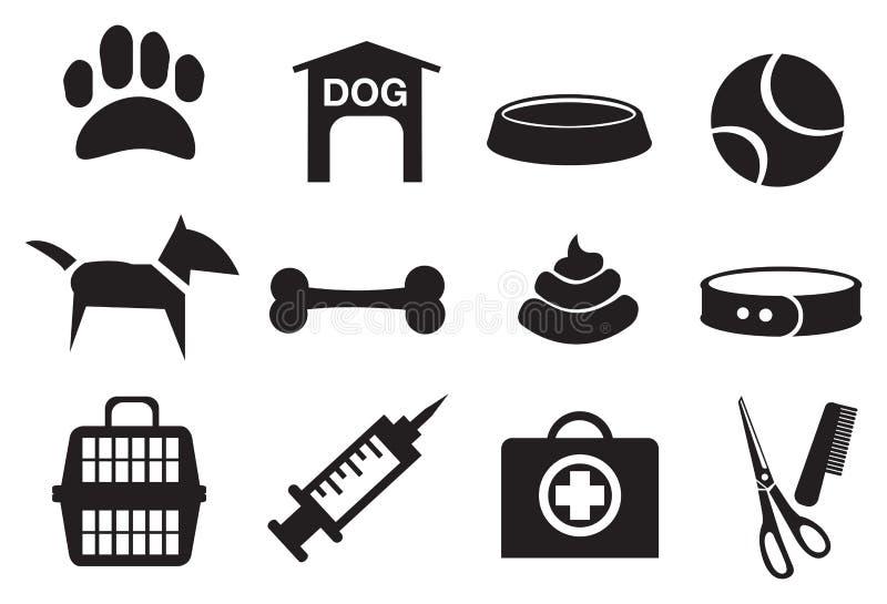 Download Iconos Relacionados Del Vector Del Perro Ilustración del Vector - Ilustración de abrigo, bola: 41916018