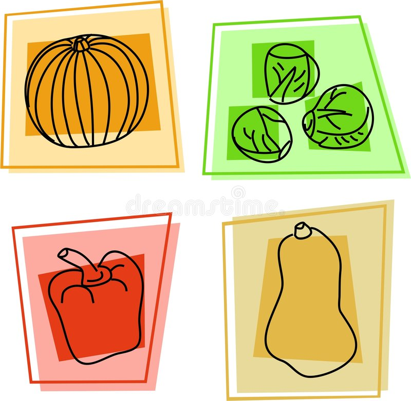 Iconos vegetales libre illustration