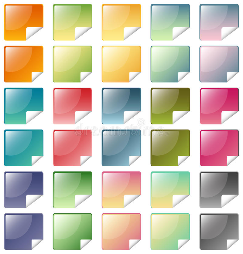 Download Icons stock illustration. Image of design, business, glass - 14624133