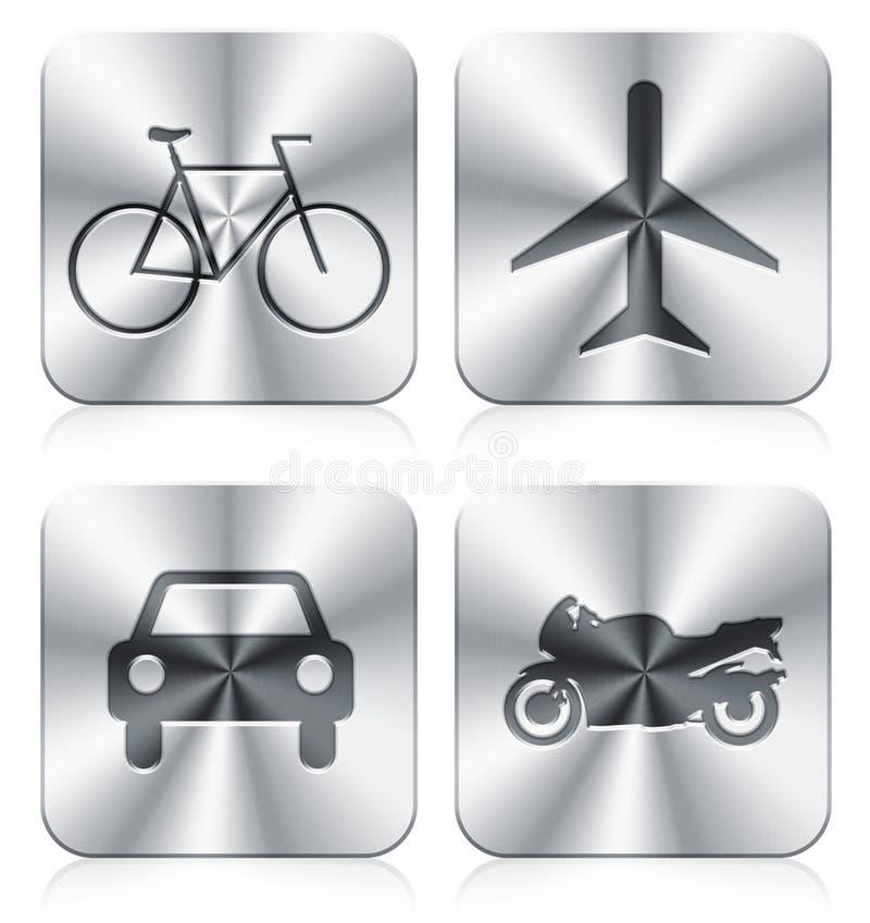 Download Icons stock illustration. Image of motorcar, skeleton - 19845525