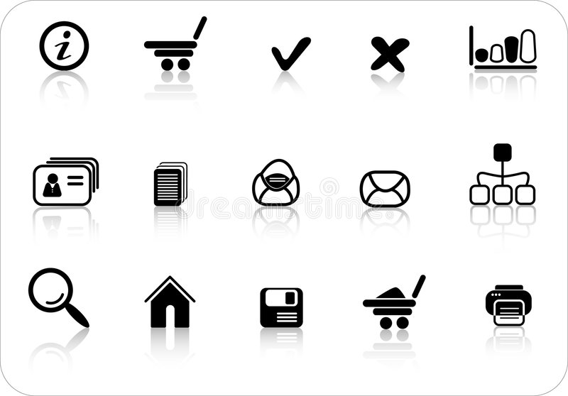 Download Icons Royalty Free Stock Photos - Image: 2316918