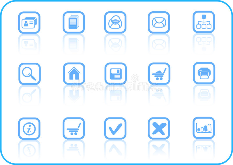 Icons. Miscellaneous raster web icons. Vector version is available in my portfolio vector illustration