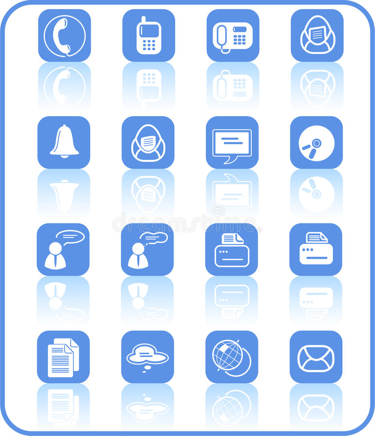 Download Icons stock vector. Illustration of business, discussion - 2321574