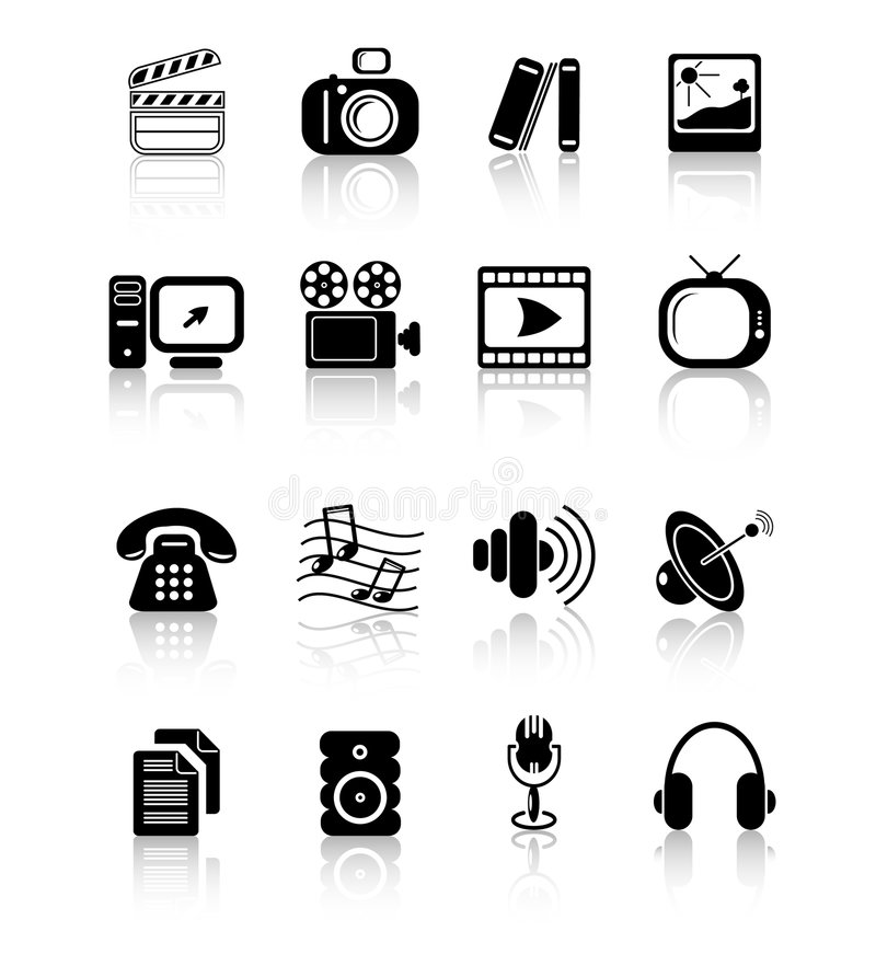 Download Icons Royalty Free Stock Photos - Image: 2321958