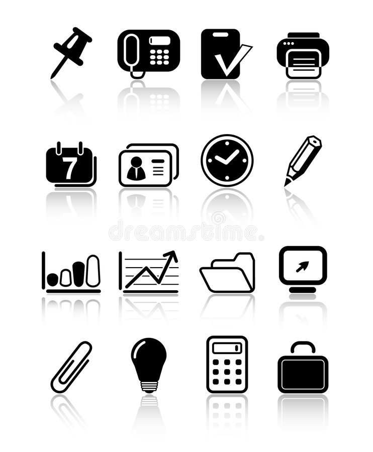 Download Icons stock vector. Illustration of phone, calculator - 2322281