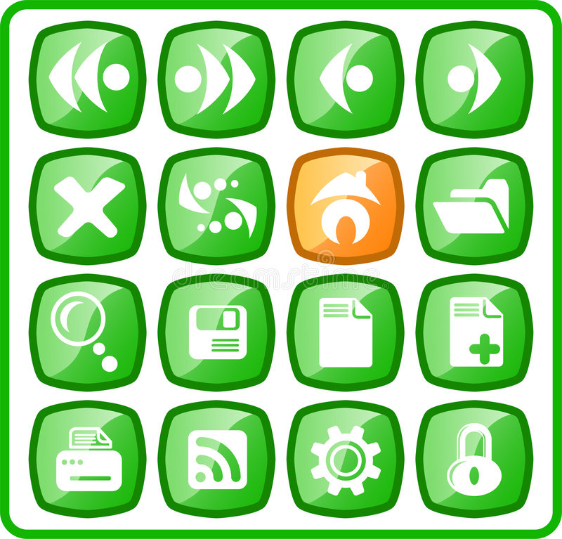 Download Icons editorial photo. Image of icons, forward, button - 2322421