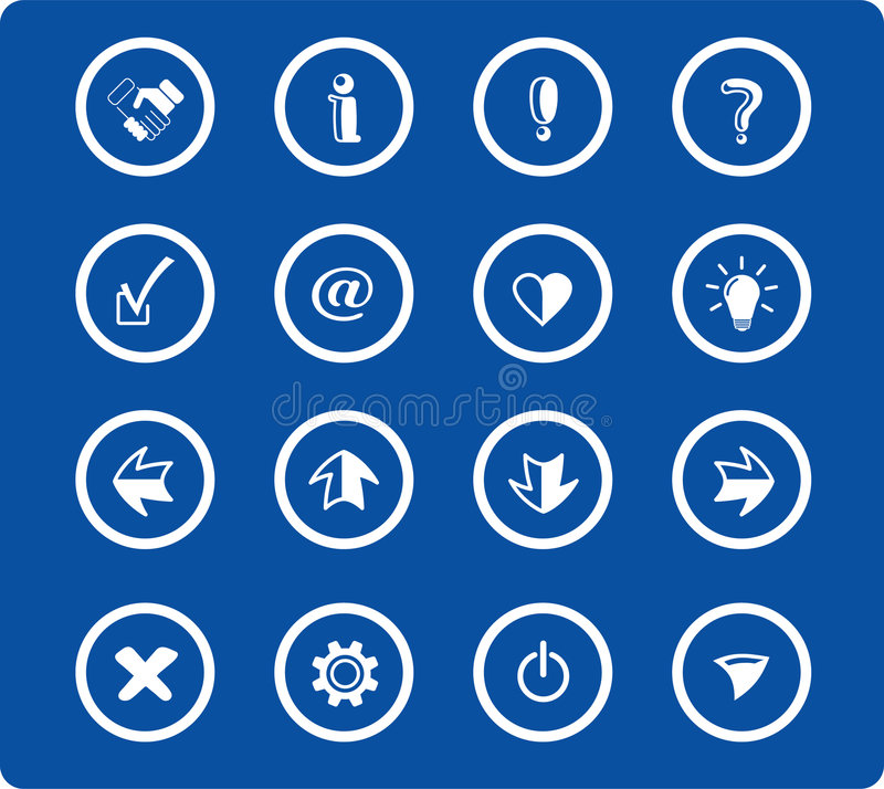 Download Icons Royalty Free Stock Image - Image: 2322566