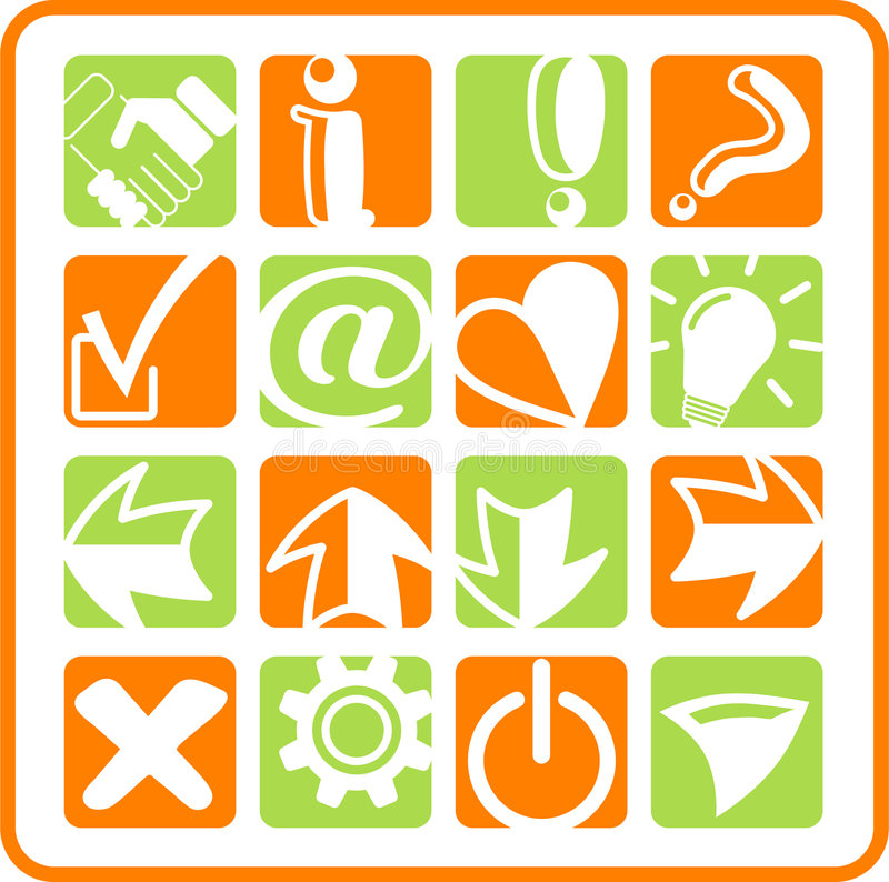 Download Icons Stock Photo - Image: 2322570