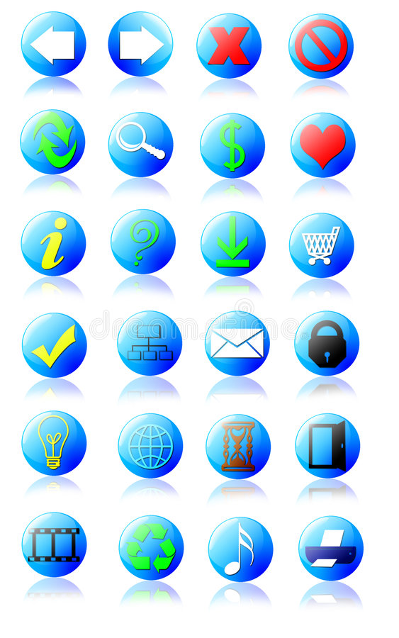 Free Icons Stock Photography - 8546952