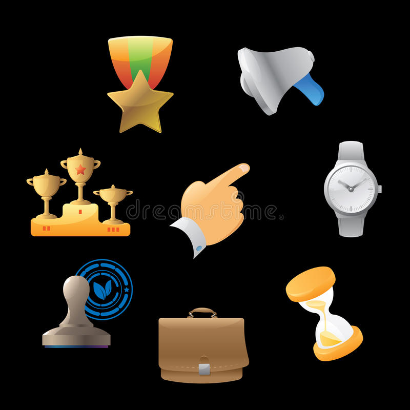 Download Icons For Business Metaphor Stock Photography - Image: 17182242