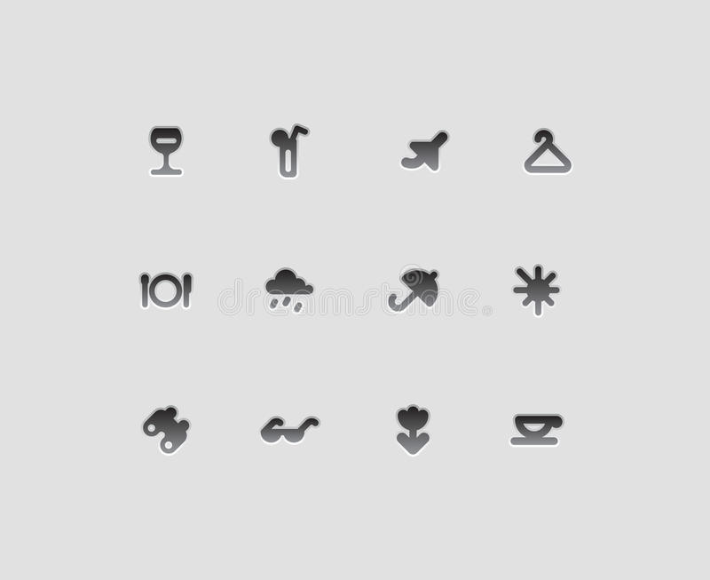 Download Icons For Entertainment Royalty Free Stock Photos - Image: 26434288
