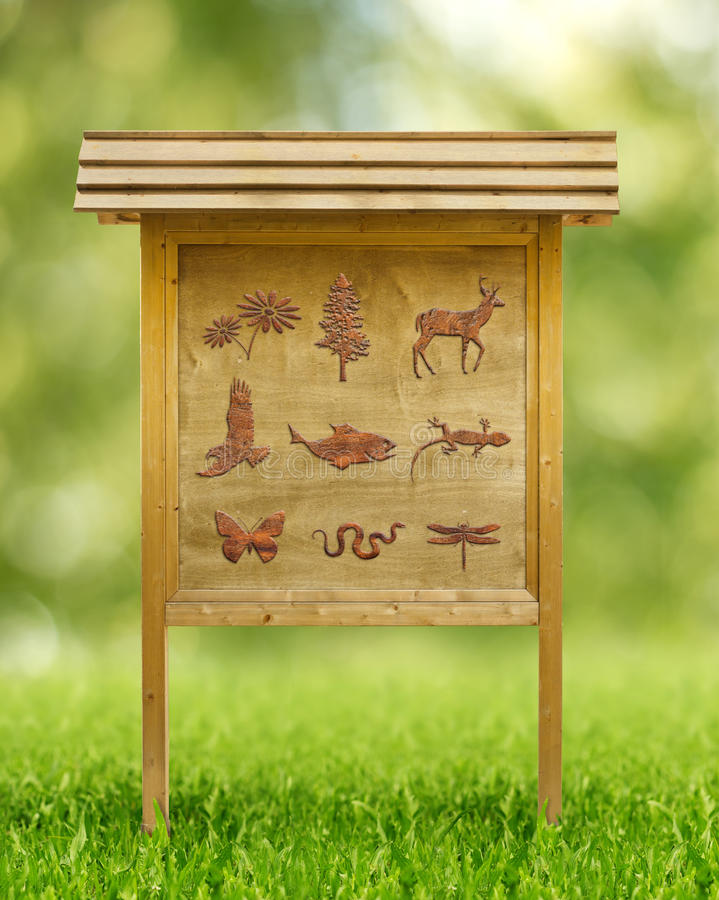 Download Icons Of Flora And Fauna Stock Illustration - Image: 42705499