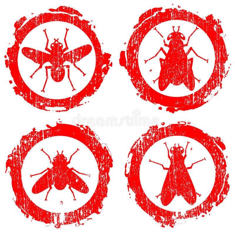 Download Icons of fly stock vector. Illustration of blood, malaria - 22793211