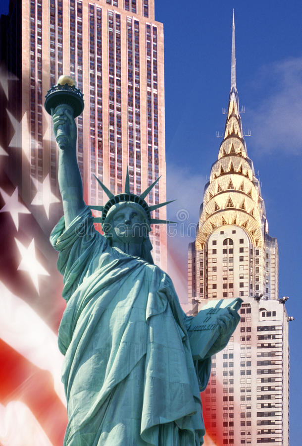 Download Icons of New York - USA stock photo. Image of patriotic - 14974450