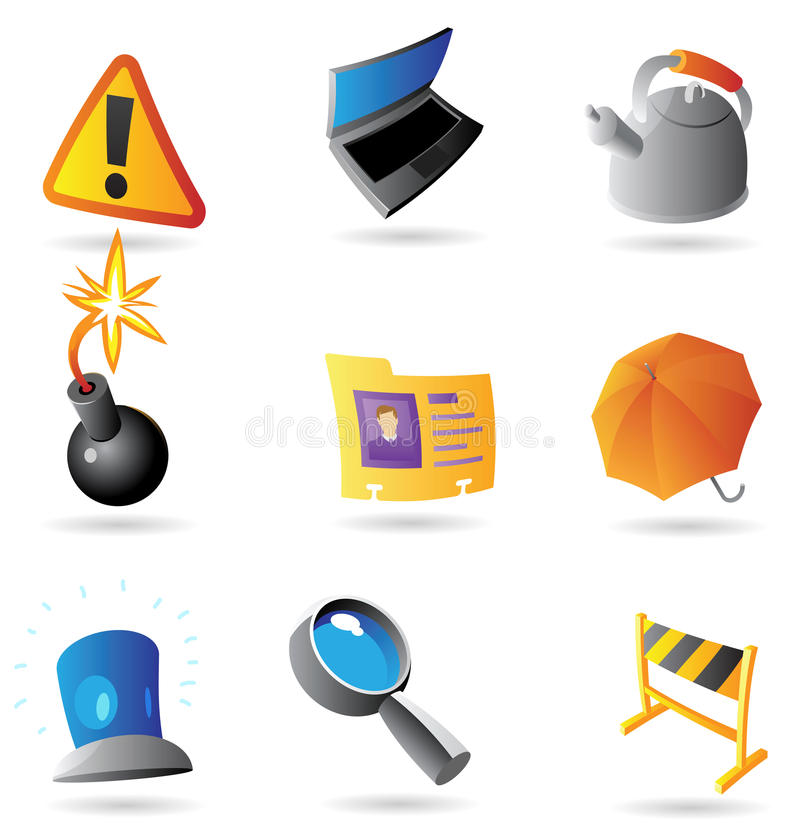 Icons for program interface