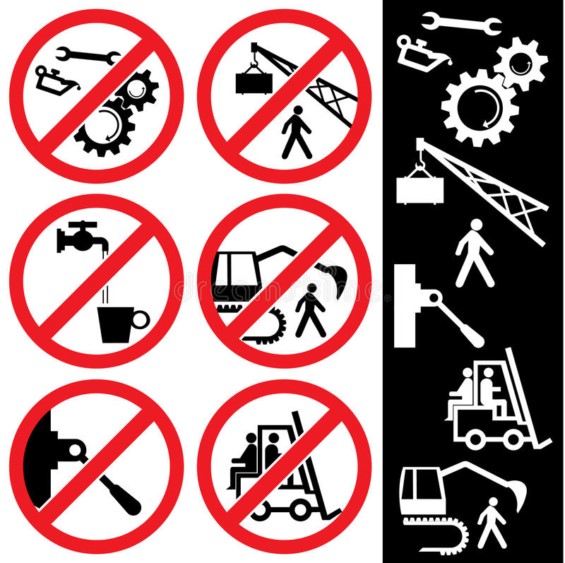 Download Icons_safety stock vector. Image of information, safety - 11754409