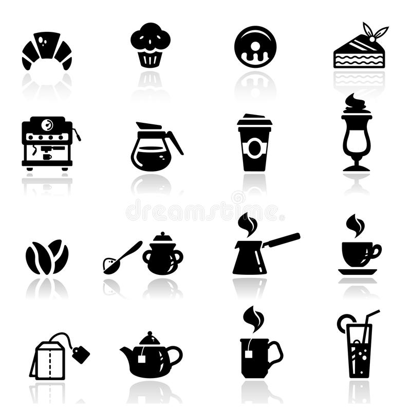 Download Icons set cafe stock vector. Illustration of simplified - 20691792