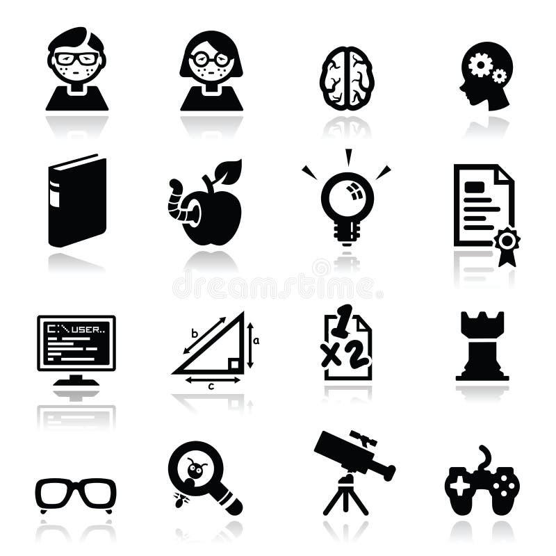 Download Icons Set Nerds Stock Image - Image: 21512721
