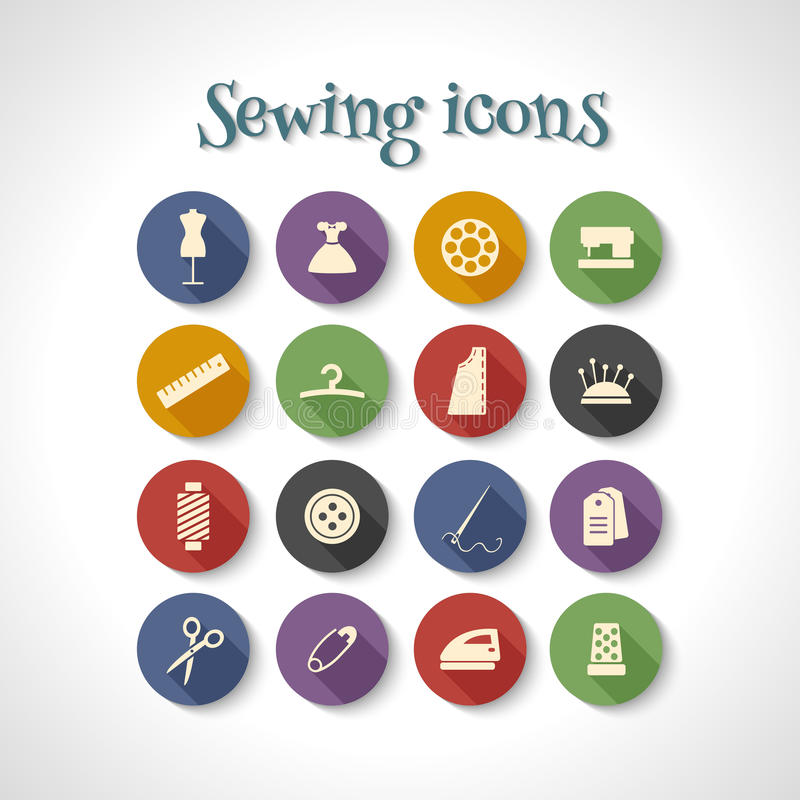 Icons royalty free illustration